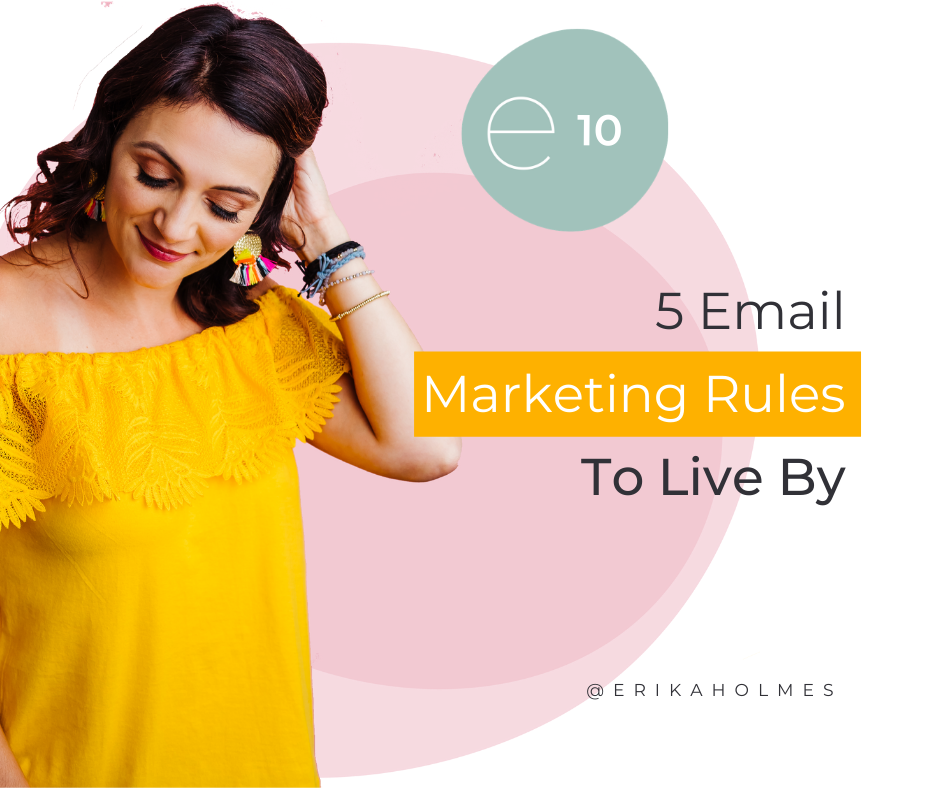 5 Email Marketing Rules To Live By