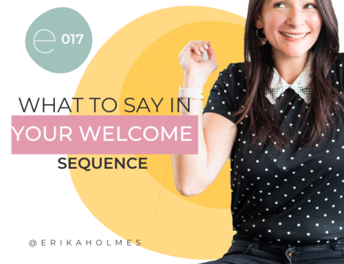 What to Say in Your Welcome Sequence